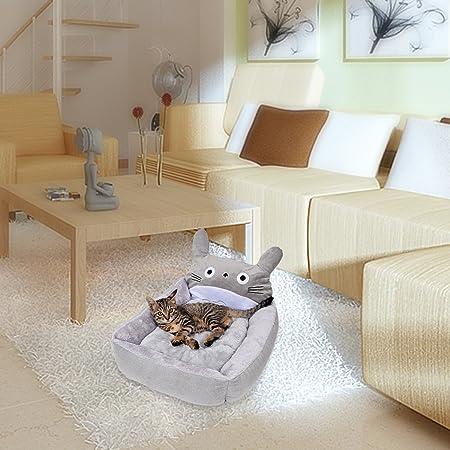 Totoro de cama con cojín para perros y gatos cama lavable (importación de Japón): Amazon.es: Productos para mascotas