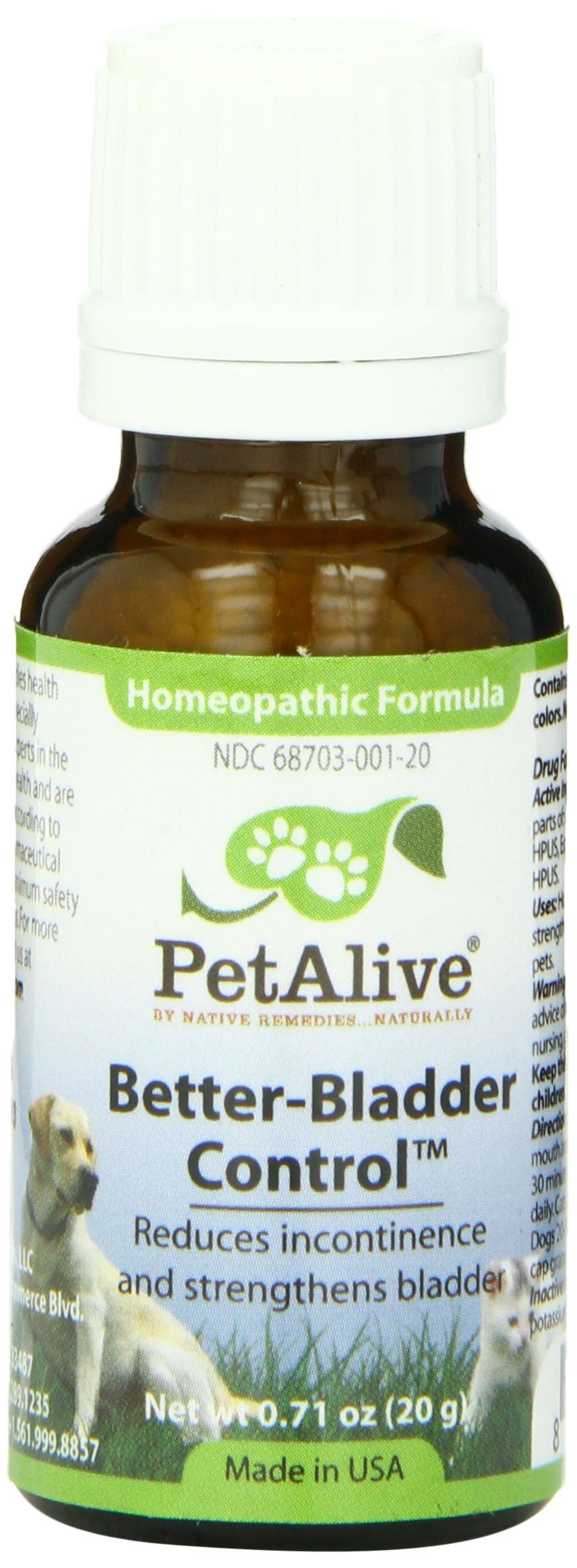 Pet Alive Better-Bladder Control, Granules