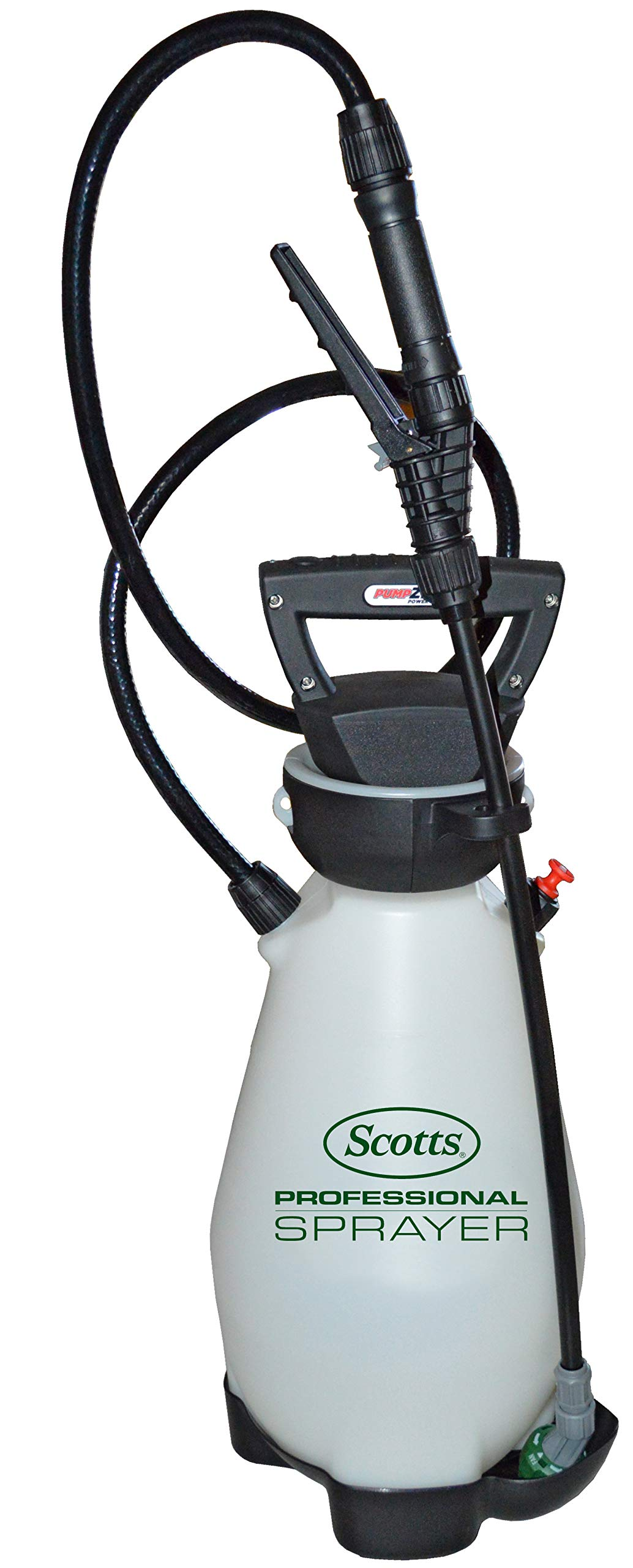Scotts 190567 Lithium-Ion Battery Powered Pump Zero Technology Sprayer, 2 Gallon White by Scotts