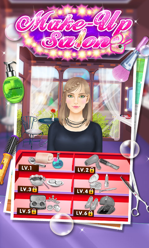Makeup salon girls games appstore for android for 6677g com fashion salon