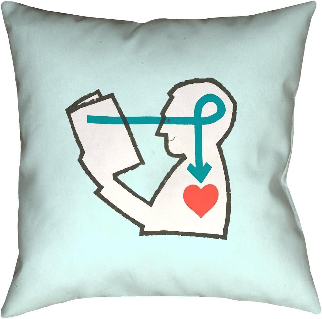 ArtVerse Katelyn Smith 20 x 20 Spun Polyester Missouri Pillow