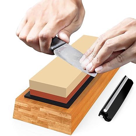 Afilador de cuchillos de piedra de afilar de primera calidad ...