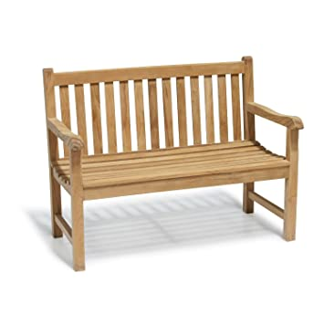 York Garden Bench A Grade Teak 1 2m 4ft Outdoor Bench Jati Brand