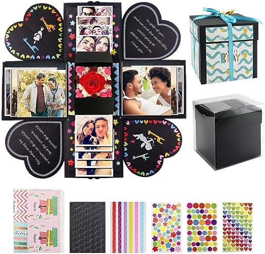 VEESUN Caja de Regalo Creative Explosion Box con Scrapbooking ...