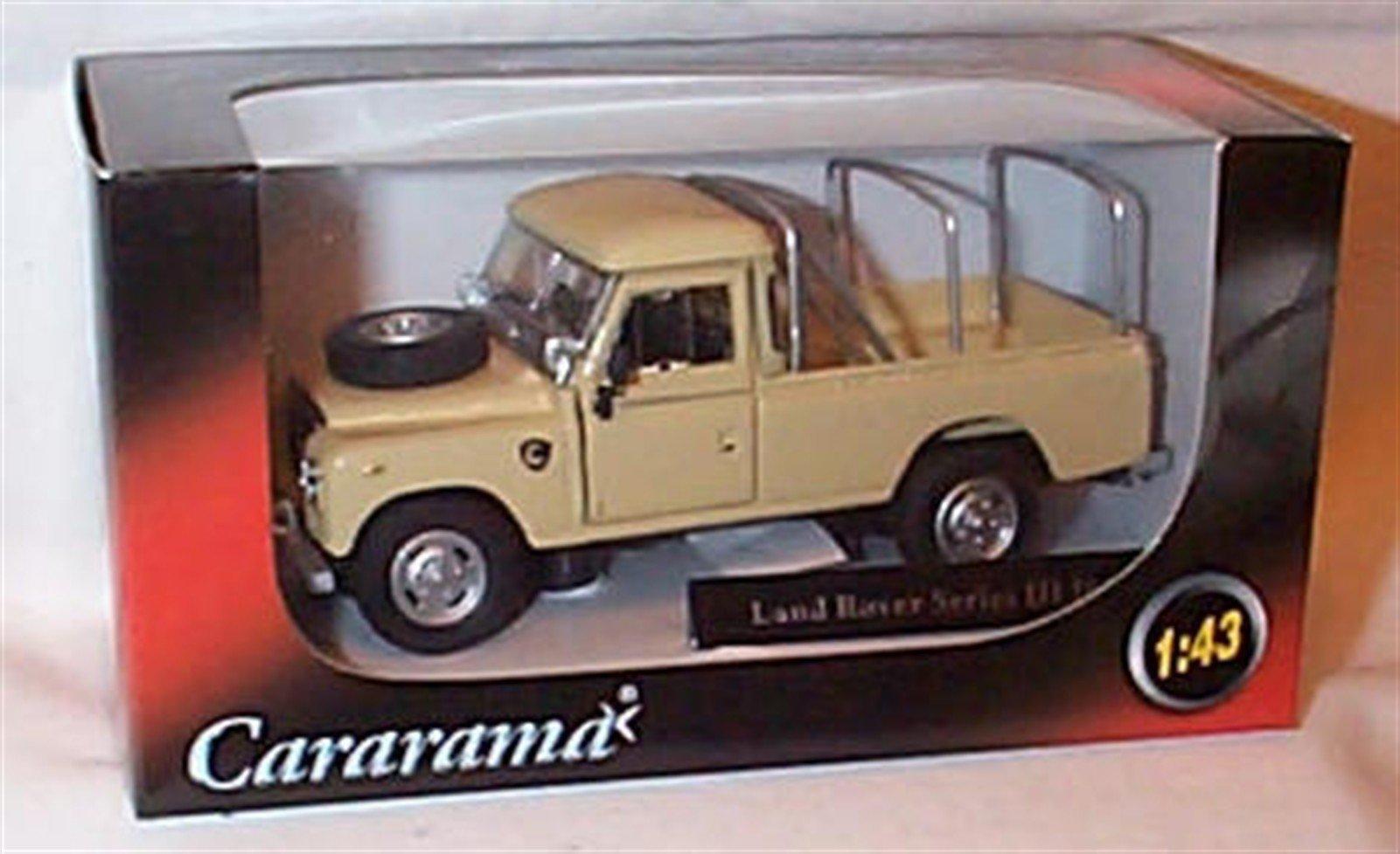 Cararama LAND R0VER series III 109 sand car 1.43 scale diecast model