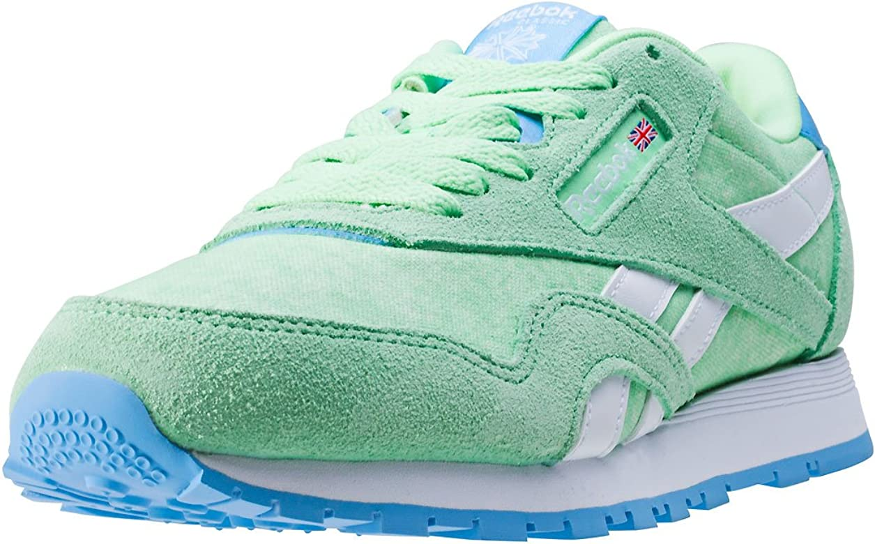 Reebok BD3858, Zapatillas de Trail Running para Niñas, Verde (Verde (Mint Green/Sky Blue/White), 36.5 EU: Amazon.es: Zapatos y complementos
