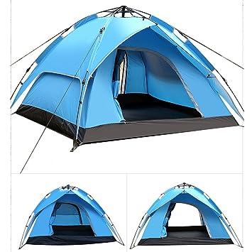 Wasserdicht Outdoor Leichtes Camping Zelt DE Campingzelt 4 Personen Wurfzelt