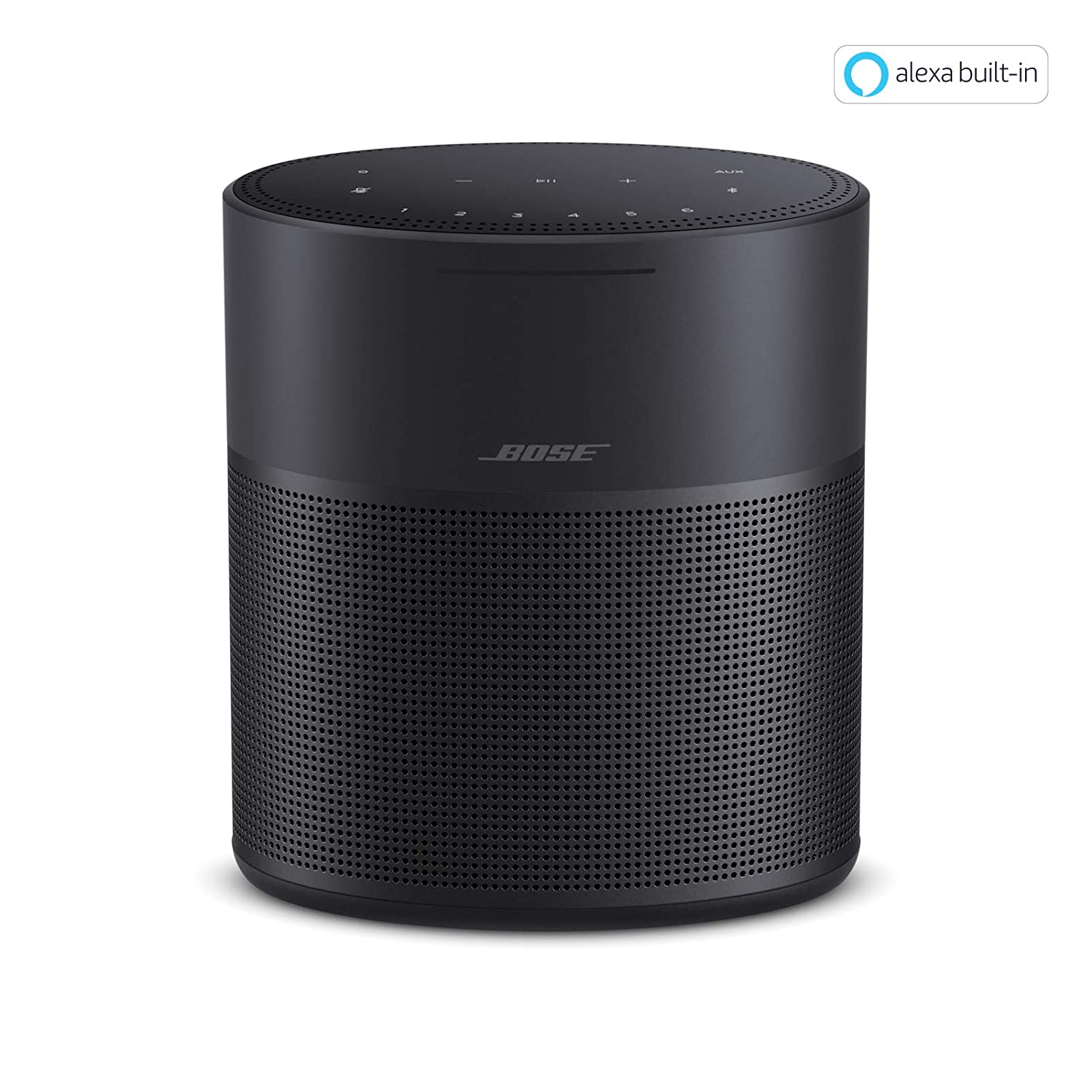 Bose Home Speaker 10, with Amazon Alexa Built-in, Black