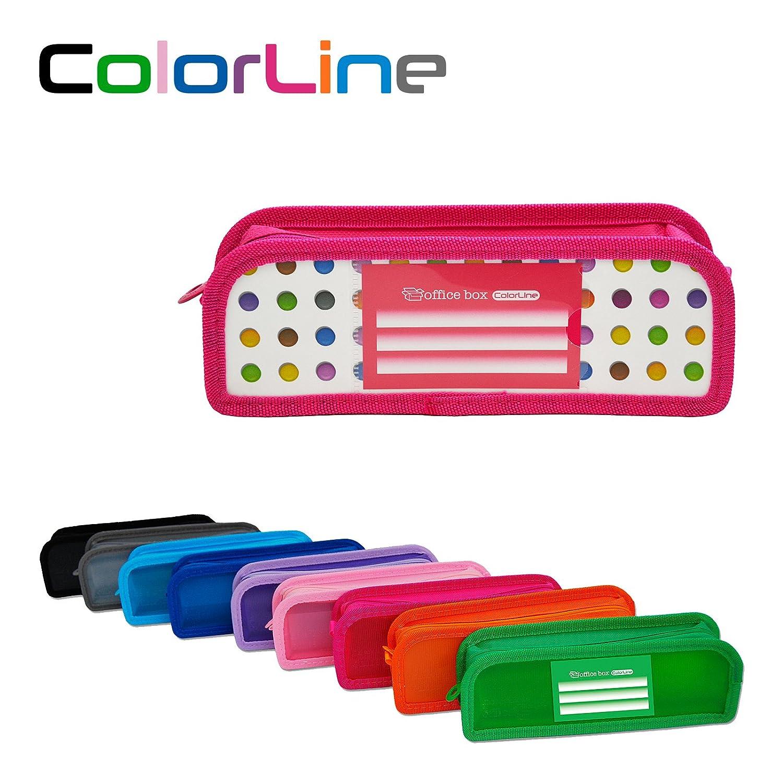 Colorline 59111 - Portatodo XL con Fuelle de Tela, Estuche ...
