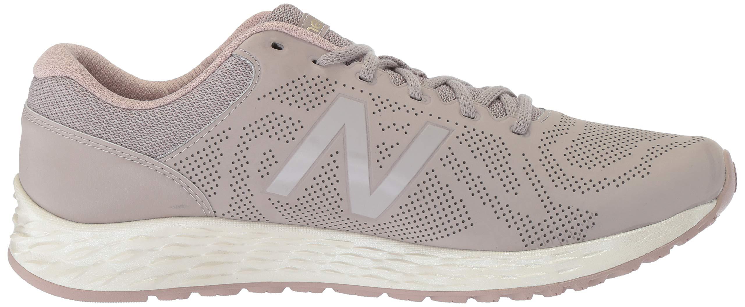 New Balance Women's Fresh Foam Arishi V1 Running Shoe, Flat White/au Lait 5 B US by New Balance (Image #6)