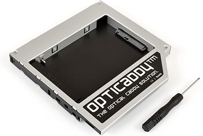 Opticaddy© SATA-3 HDD/SSD Caddy Adaptador para Apple iMac (2009 ...