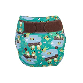 Five new birth to potty nappies