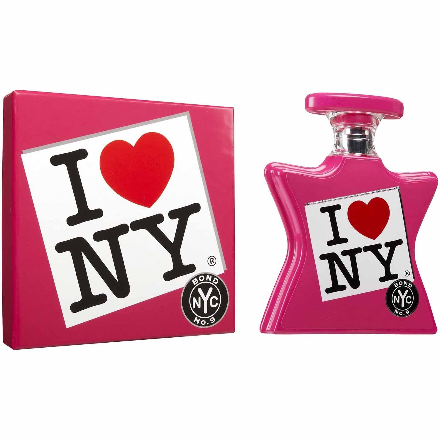Bond No 9 I Love New York Eau De Parfum Spray for Women, 3.3 Ounce