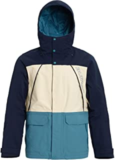 Amazon.com: Quiksilver Mens Horizon Snowboard Ski Jacket ...
