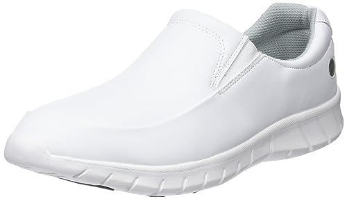 Vidar - Calzado de protección de Material Sintético para hombre Blanco blanco 40, color Blanco, talla 37 EU