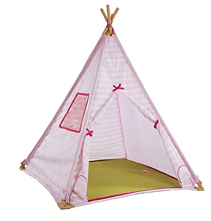 size 40 169b5 329b4 Our Generation Suite Teepee – Pink Polyester – Indoor – Night-Light  Included – for Children and 18 Inch Dolls