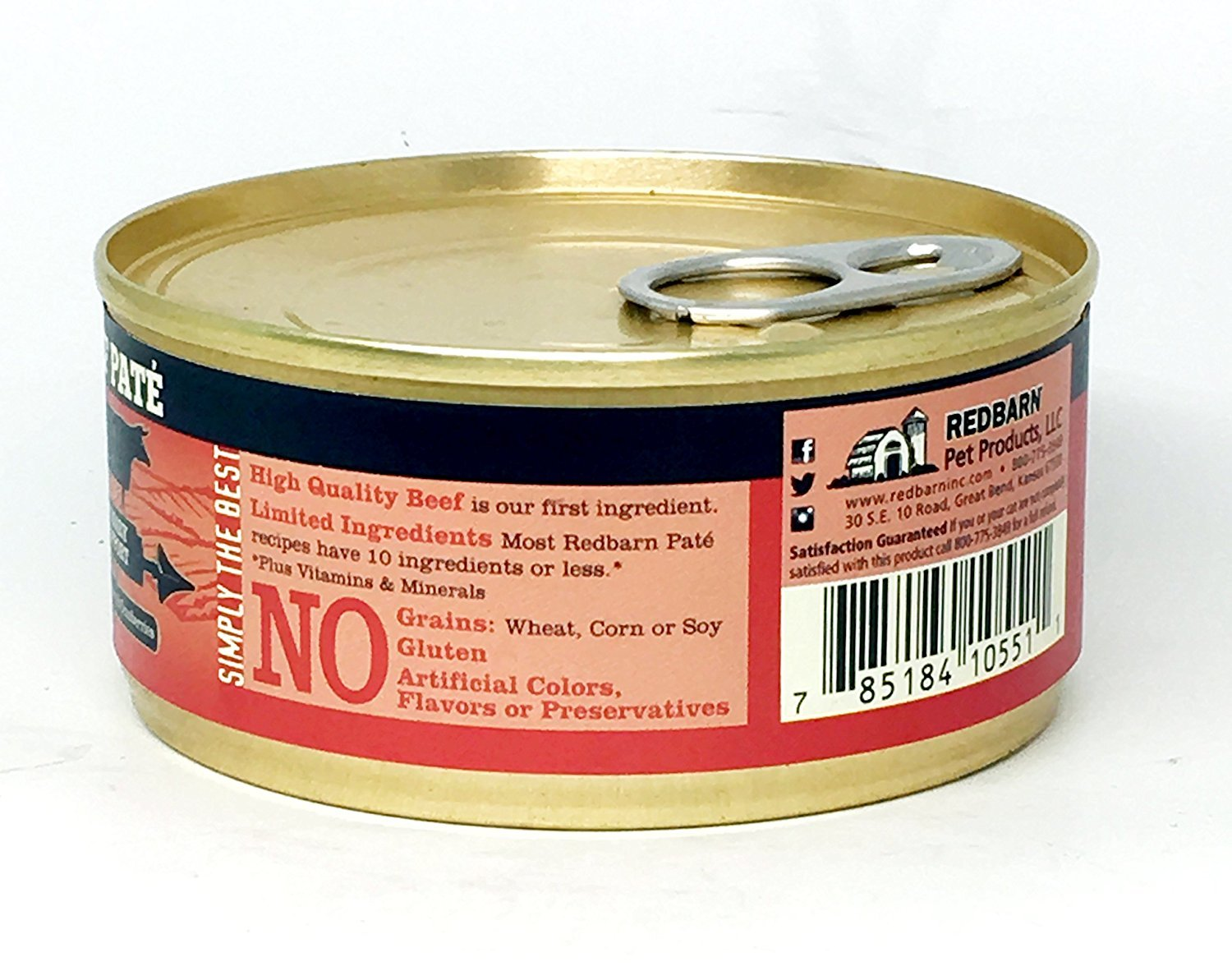 Amazon.com : RedBarn Naturals Grain Free Canned Cat Food Pate in 3 Flavors - Beef, Ocean Fish, and Chicken - 12 Cans Total, 5.5 Ounces Each - Plus 1 Pet ...