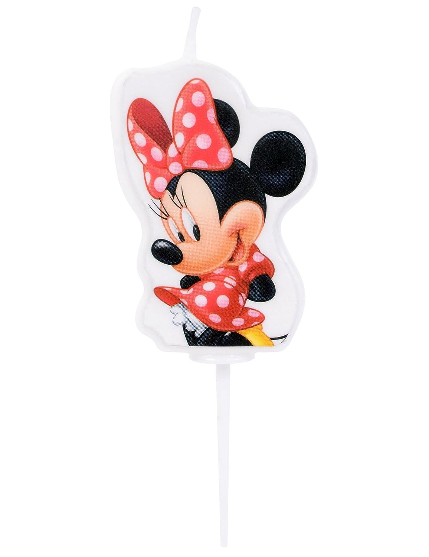 Vela Mickey de 4,5 cm - cumpleaños Mickey por modecor ...