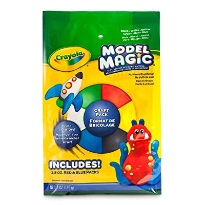 Crayola Model Magic Craft Pack, Modeling Clay Alternative, 7oz (232407): Toys & Games