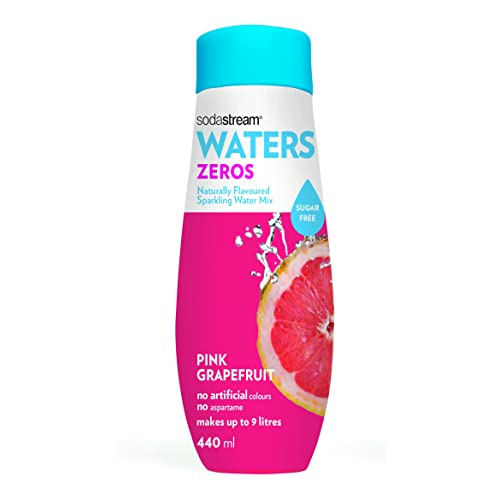 SodaStream Pink Grapefruit Zeros Sparkling Drink Mix, 635g