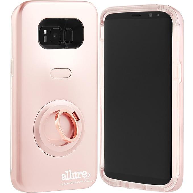 sale retailer 73e6b c3f0c Case-Mate CM035624 Samsung Galaxy S8 Allure Selfie Case - Rose Gold