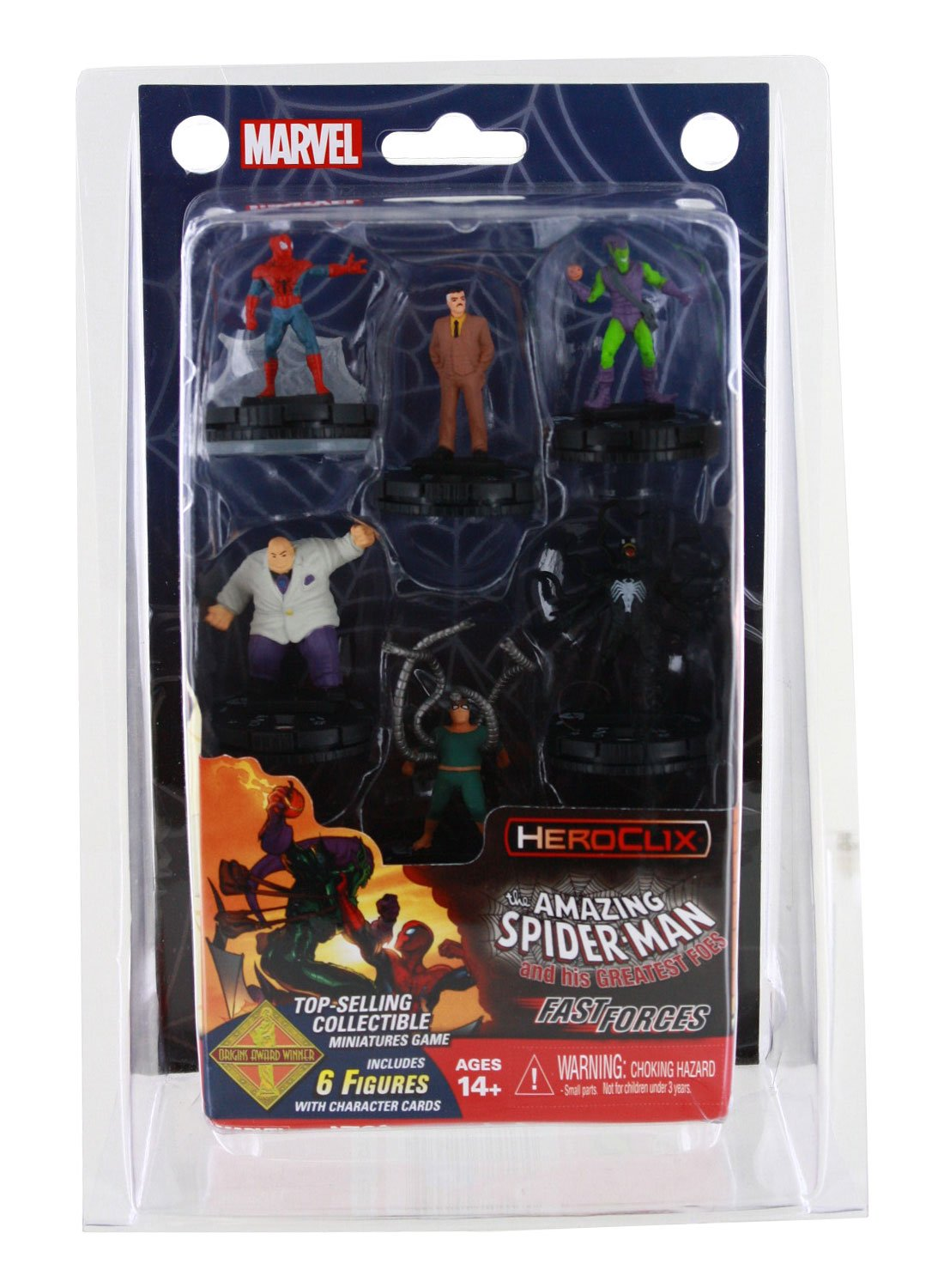 Marvel HeroClix Spider Man and His Greatest Foes Fast Forces