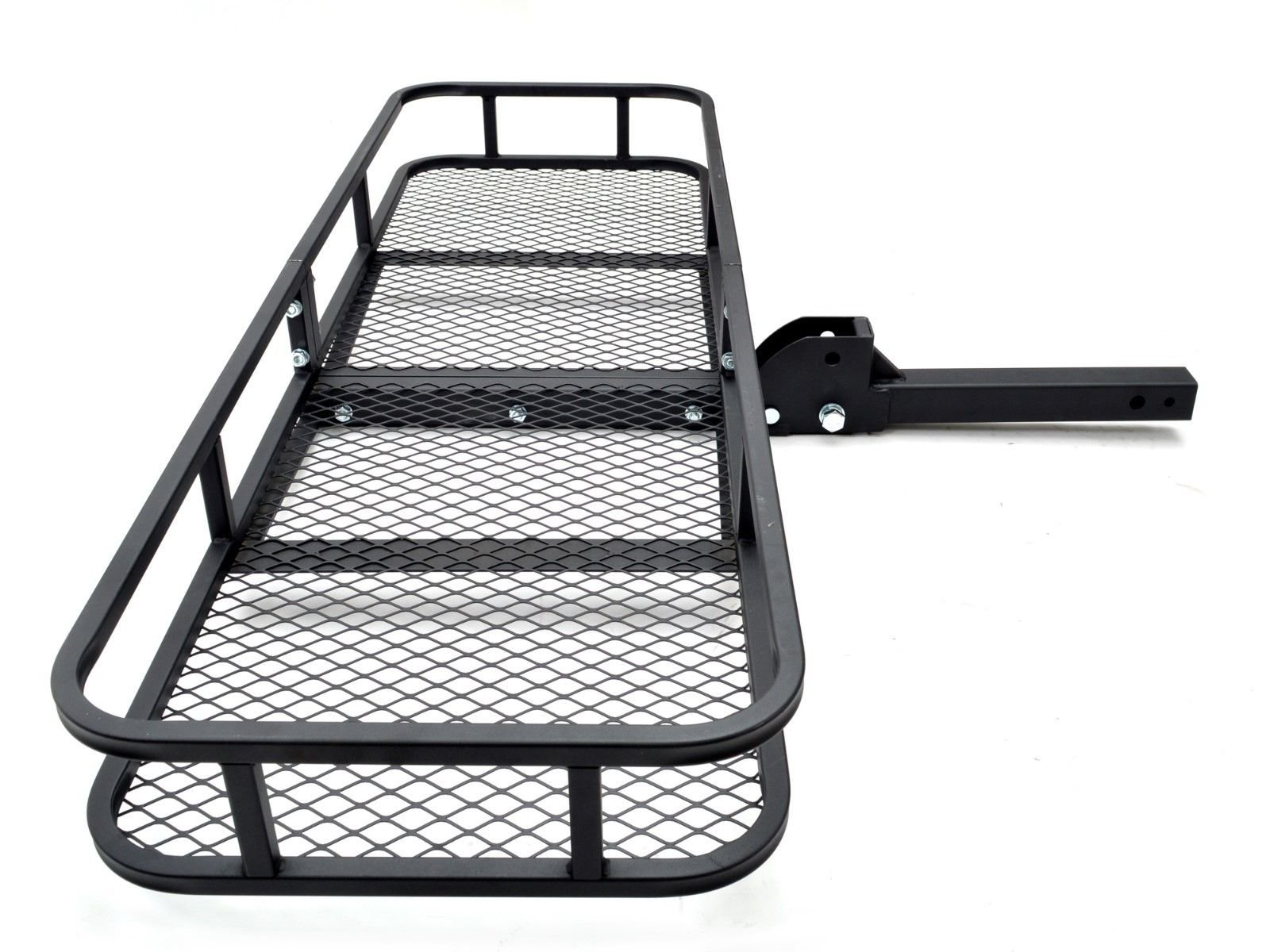 Thegood88 Folding Cargo Carrier Basket Luggage Rack Hauler Truck Car Hitch 2'' Receiver TG0346