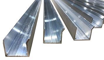 Alu Abschlussprofil Fur Stegplatten Aus Xt Pc Pmma Acrylglas