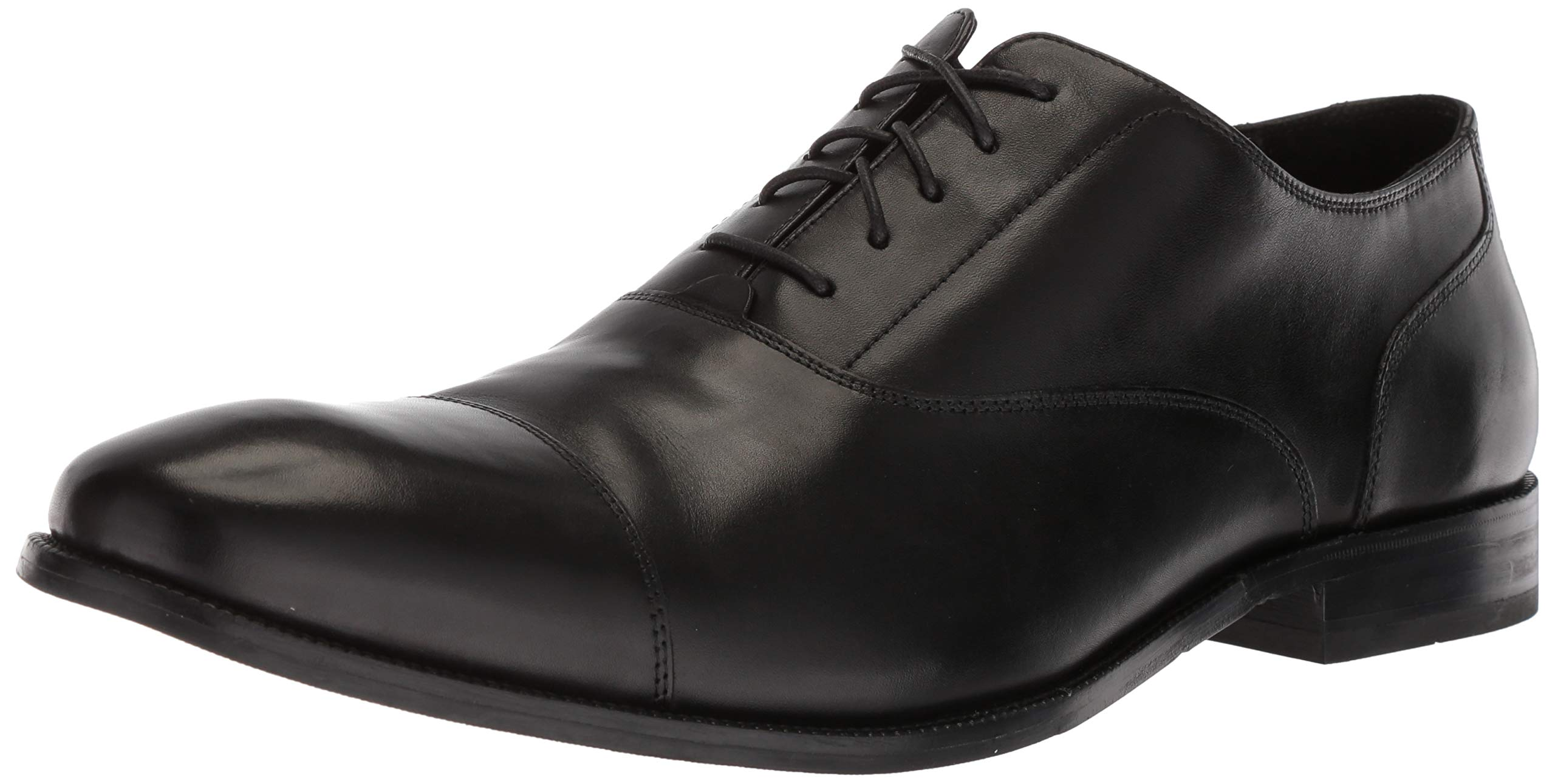 Cole Haan Men's Williams Cap Toe Oxford, Black, 10 M US