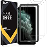 EGV 4 Pack Screen Protector for iPhone 11 Pro Max/iPhone Xs Max 9H HD Clear Tempered Glass, Case Friendly, Alignment Frame Ea