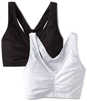 9745cccb91d Barely There Women s Custom Flex Fit 2 Pack Pullover Bra at Amazon ...