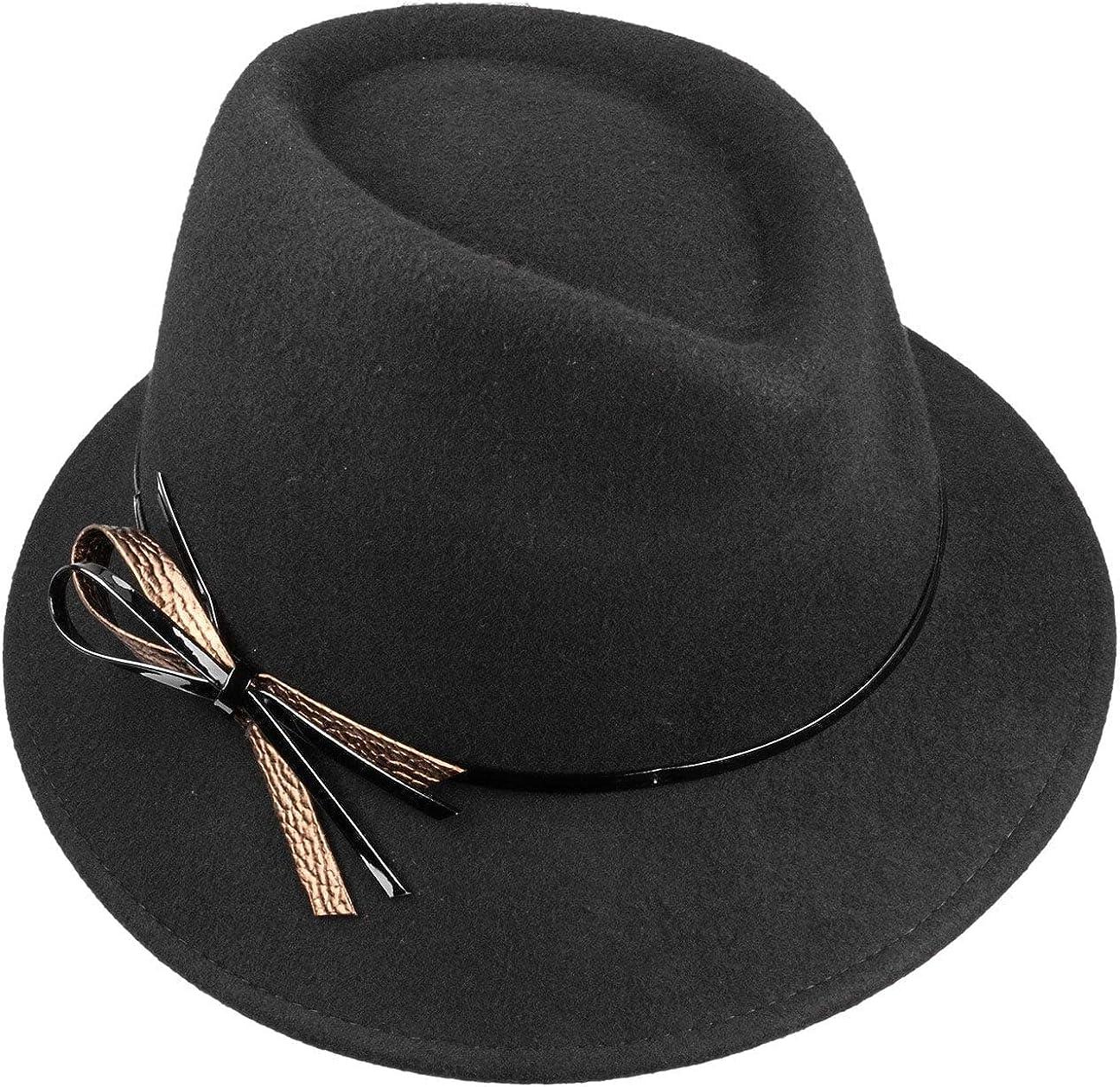 Made in Italy Wool Felt Autumn-Winter Lierys Women/´s Hat with Patent Loop Women