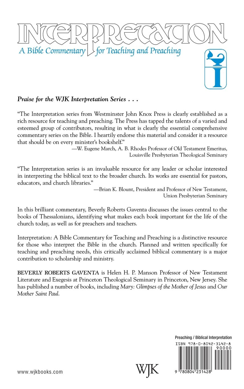 First and second thessalonians interpretation a bible commentary first and second thessalonians interpretation a bible commentary for teaching preaching beverly roberts gaventa 9780804231428 amazon books nvjuhfo Gallery