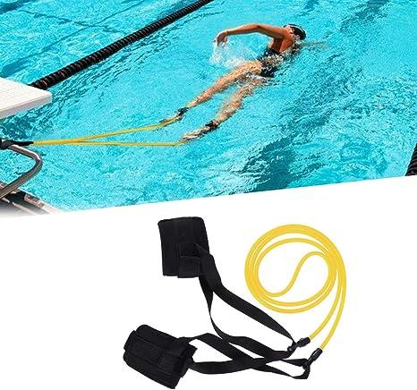 Swim Ankle Strap Stationary Swimmer Swim Lap Swim Training Leash Swim Belt NEW