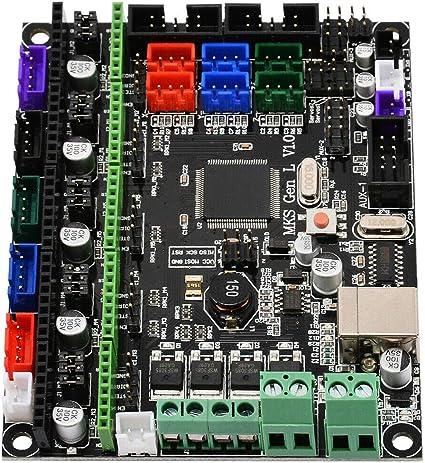 TOOGOO Tablero de Control de Impresora 3D Mks Gen L V1.0 Integrar ...