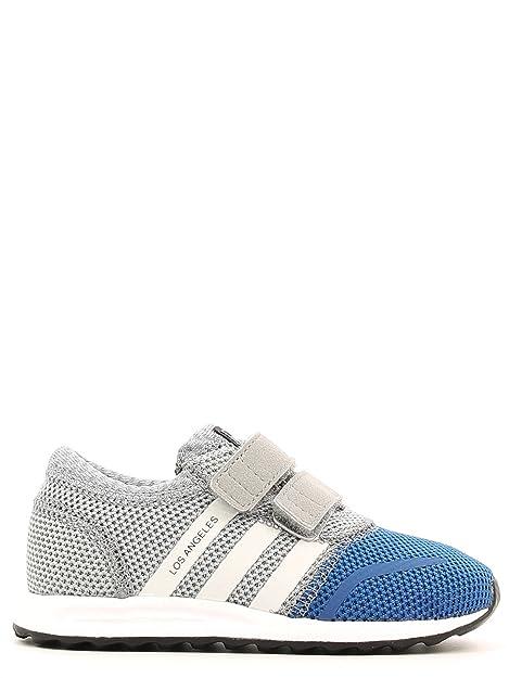 adidas - Zapatillas de Lona para niño Gris Grigio BLU Gris Grigio BLU Talla:22: Amazon.es: Deportes y aire libre