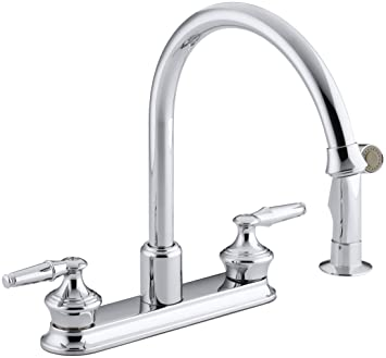 Kohler K 15889 K Cp Coralais Decorator Kitchen Sink Faucet Polished