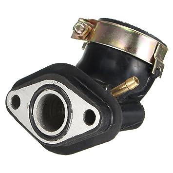 GY6 50 cc Ansaugkrümmer Rohr SCOOTER MOPED Motor Teile: Amazon.de: Auto