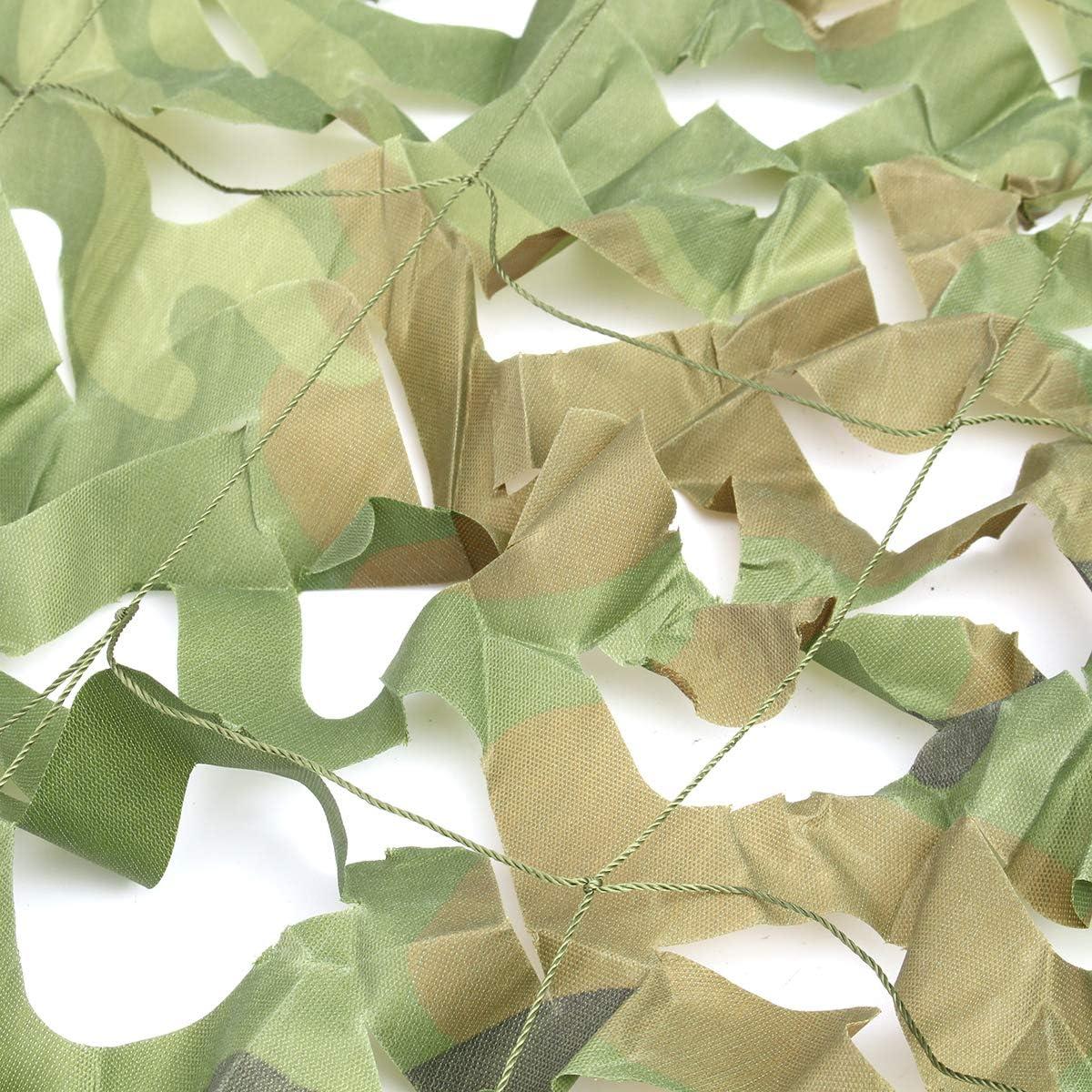 AVANI EXCHANGE 4mX6m Jungle Camo Filet Camouflage Net pour la Couverture de Voiture Camping Woodland Chasse Militaire