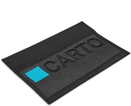 Carto 2er Pack Gurtpolster Schwarz 2x Polsterung Für Sitzgurt Im Auto Bügel Gurtschutz Schulterpolster Sicherheitsgurt Polster Auto