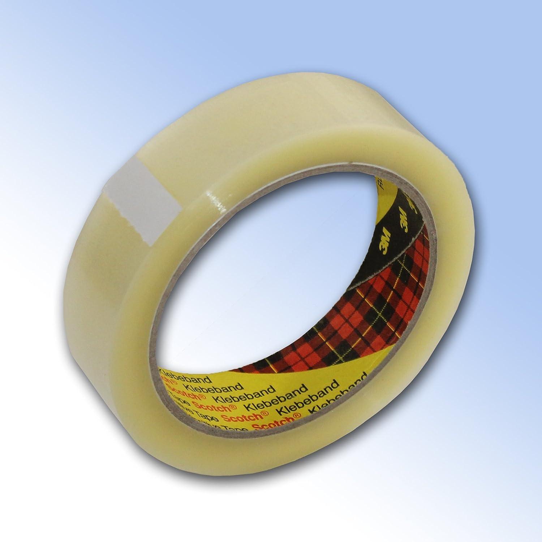 6 Rolls 3M Scotch clear tape Tape 25mm x 66m