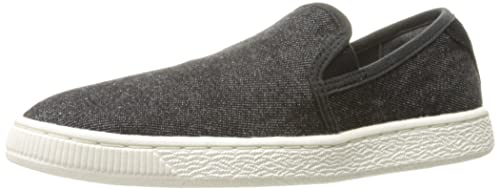 info for 4a414 00acd PUMA Basket Classic Slip on Denim Fashion Sneaker