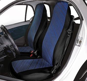 CORA 000129167 Coprisedili Anteriori Personalizzati Smart Fortwo Diago Blu