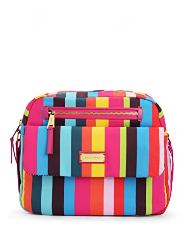 Amazon.com: Juicy Couture las palmas Nylon Bolsa de Pañales ...