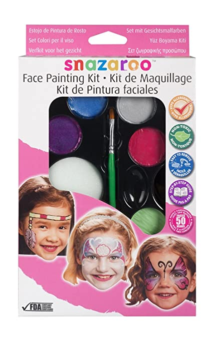 Amazoncom Girls Face Painting Kit Kitchen Dining