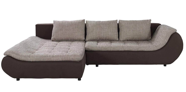polsterecke sofa mit schlaffunktion prato schlafsofa schlafcouch kunstleder webstoff. Black Bedroom Furniture Sets. Home Design Ideas
