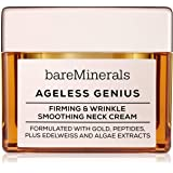 bareMinerals Ageless Genius: Firming & Wrinkle Smoothing Neck Cream, 1.7 Ounce, Multi (098132473885)