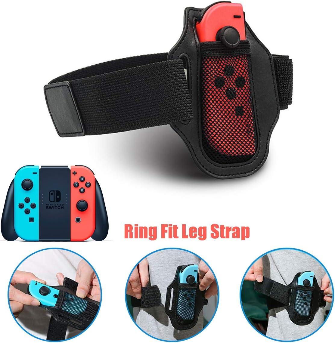 SIQDAK NS-Switch Game Fitness Ring, Adventure NS Ring Fit Somatosensorial Sports Game Yoga Fitness Ring + Straps, Adecuado para Grandes Deportes de Aventura Somatosensorial Juegos: Amazon.es: Electrónica