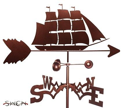 Overig Verzamelingen Hand Made Clipper Ship Weathervane *NEW*