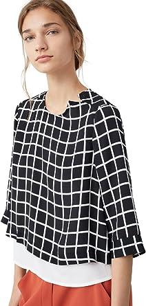 MANGO - Camisas - para mujer negro negro 36: Amazon.es: Ropa ...